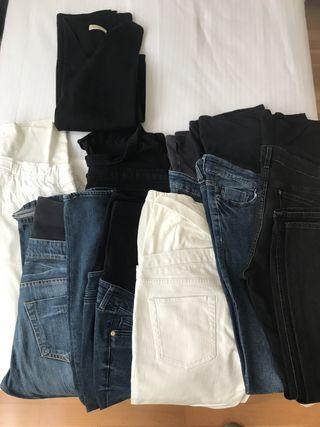 Lote ropa premamá talla L/42