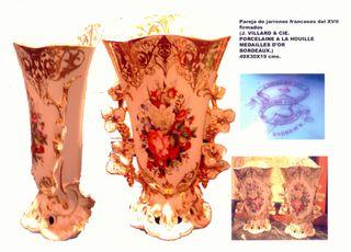 jarrones porcelana