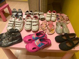 Lote calzado niña (12 pares)