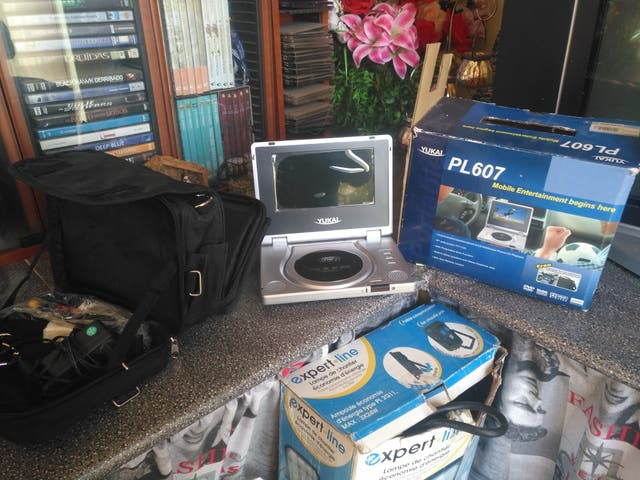 reproductor dvd y cd portatil