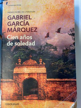Libro Cien años de Soledad