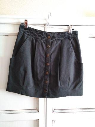 Mini - falda gris H&M