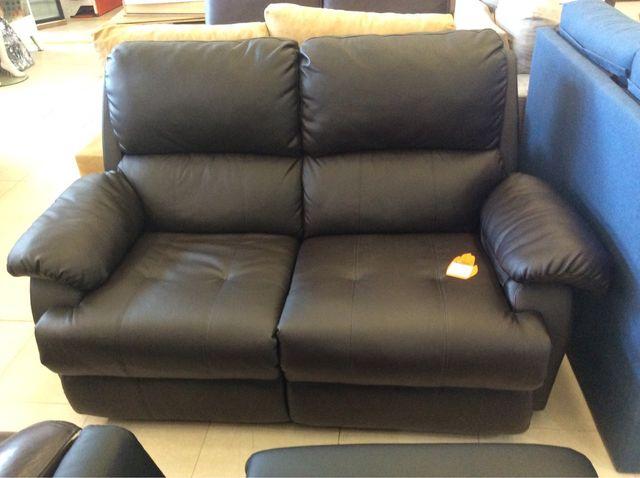 Sofá 2 plazas extensible reclinable