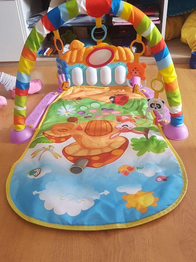Manta alfombra,Gimnasio Piano pataditas bebe