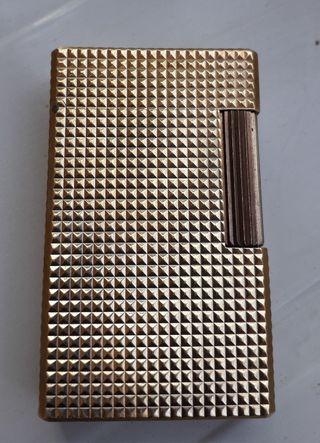 Mechero Dupont oro