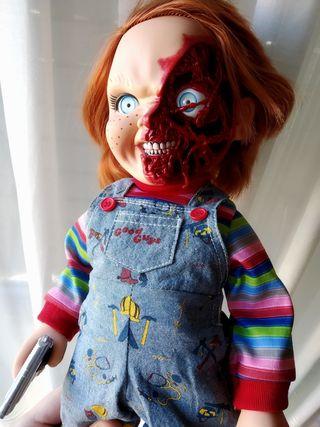 Chucky Muñeco diabólico ORIGINAL Mezco. Con sonido