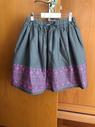 Falda de niña , talla 12