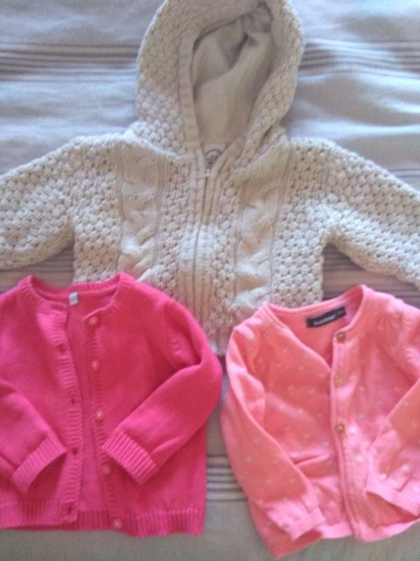 Lote chaquetas bebé 6 meses