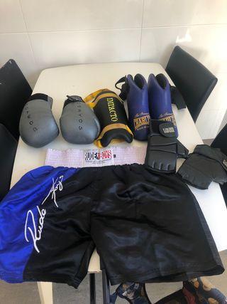 Equipo kick boxing / boxeo