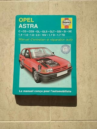 Manual de taller Haynes Opel Astra