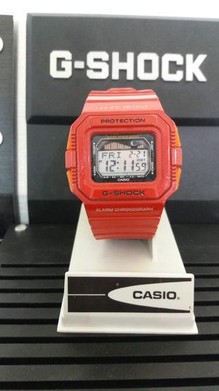 G-SHOCK CASIO GLX-5500A MAREAS Y FASES LUNARES.