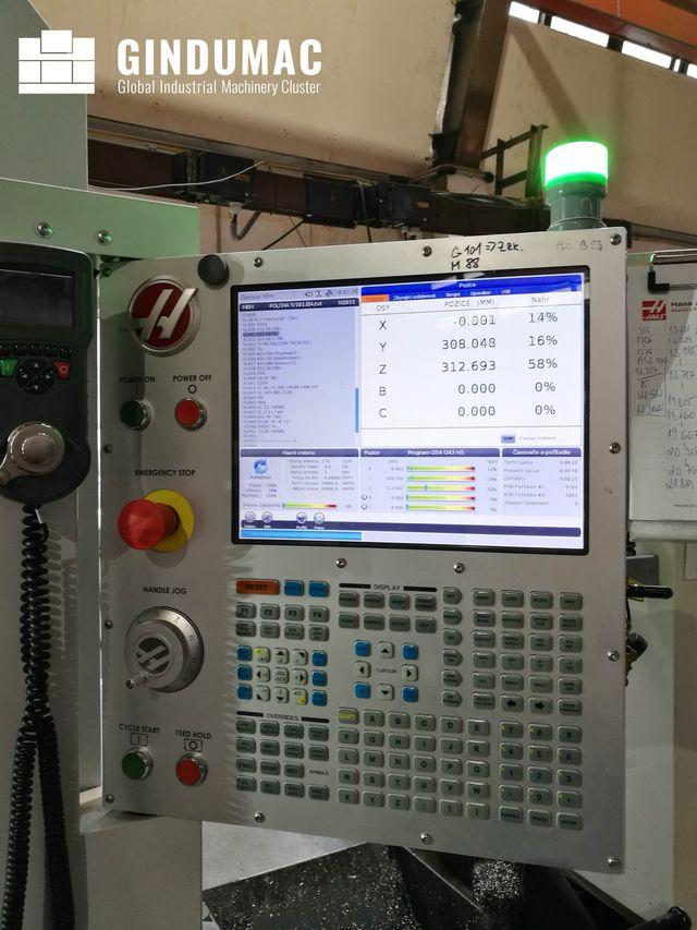 Centro de Mecanizado Vertical HAAS UMC - 750