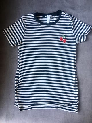 Camiseta premama embarazada H&M talla M