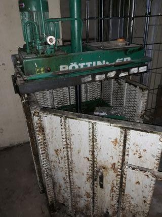 prensa de carton