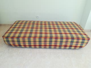 Colcha edredón ajustable para cama de 90x180