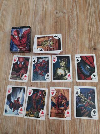 Juego de Cartas de Spiderman