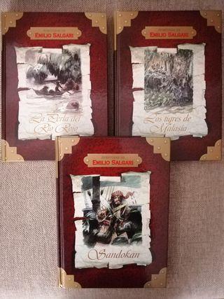 Colección aventuras de Emilio Salgari