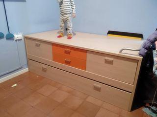 Cama para habitación infantil o juvenil