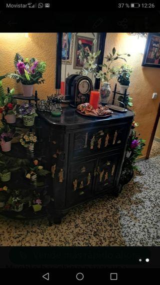 Mueble bar chino de nácar