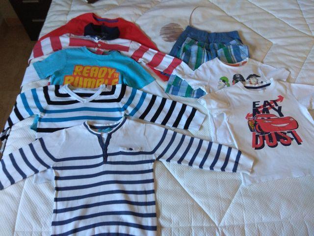 Lote ropa niño 110-116 cm 4-5 años