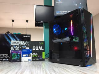 pc gaming 2k Intel I5 9600K Y GTX 1070 8GB