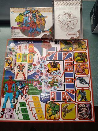 SUPERHEROES FEBER JUEGOS AÑOS 80