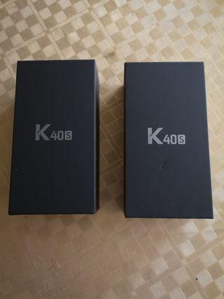 teléfonos LG k40s