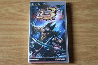 Monster Hunter 3rd Portable PSP Japones