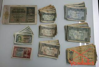 Billetes España antiguos