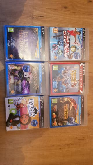 Colección juegos Playstation Move