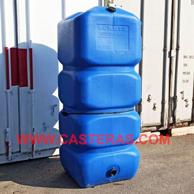Depósito de Agua Potable, Capacidad 1000 Lt