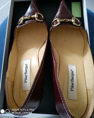 Zapato tacón fino