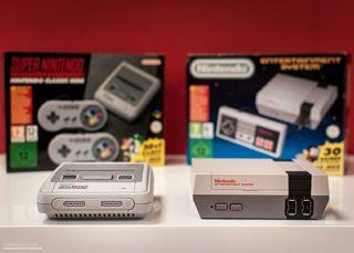 Nintendo Nes Mini + Snes Mini + Accesorios