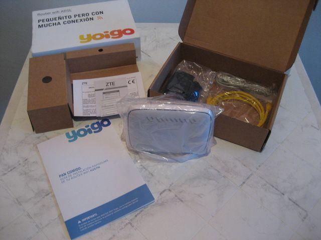 Router wifi ADSL Yoigo