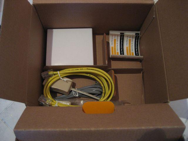 Router wifi ADSL Jazztel