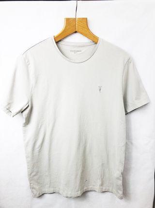 All Saints Cream T Shirt Size M