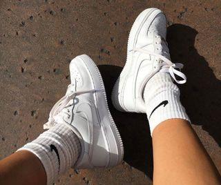 Zapatillas Nike Air forcé 1 blancas