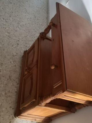 Mueble de salón o aparador y mesa de tv