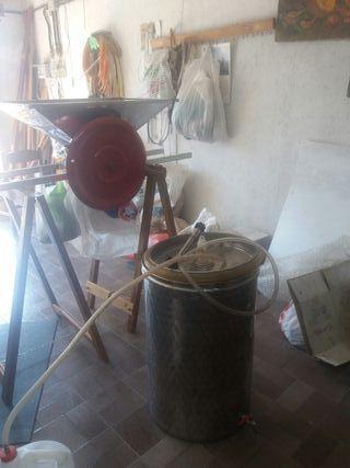 máquina de fabricación de vino