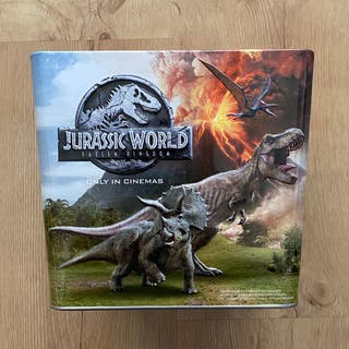 Cubo Palomitas Jurassic World