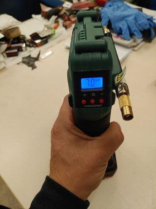 compresor portátil a bateria