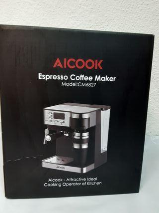 Cafetera Espresso automatica Aicook CM6827