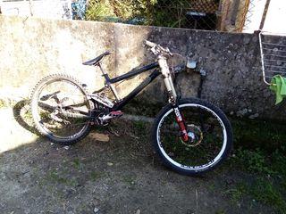 bici descenso