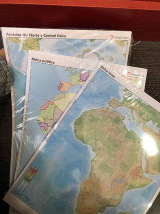 Mapas geográficos