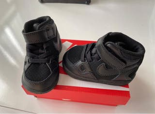 #zapatillas #nike air force 1 mid bebé. Talla 18,5