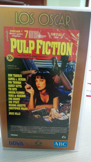 Pulp fiction vhs