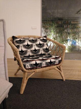 Sofá de ratán