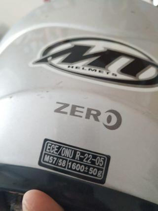casco MT modular talla M