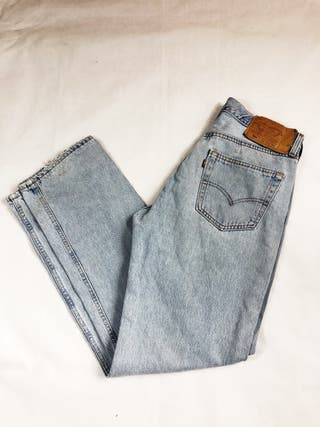 Levi's Strauss 501 Denim Light Wash Jeans