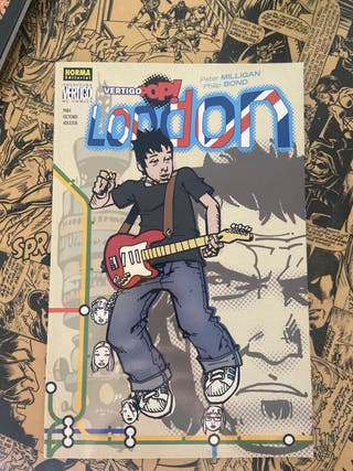 Vertigo Pop, London comic